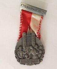 Auseichnung Sportschutzenverg Beider Basel 1945 Germany Medal Badge Pin (N10)