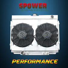 3-Row/CORE Aluminum Radiator+Fan Shroud For Ford Mustang Mercury 67-70 BIG BLOCK
