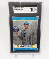 2012-13 Panini NBA Hoops #275 Anthony Davis Lakers RC Rookie SGC 10 Gem Comp PSA