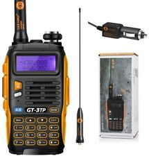 Police Handheld Radio Scanner 2 Way Digital Transceiver HAM VHF UHF Fire Antenna