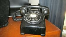 nice 1950 Leich rotary phone bakelite