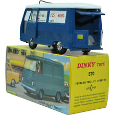 1:43 Dinky Toys 570 FOURGON TOLE J7 PEUGEOT Diecast Car Model ATLAS COLLECTION
