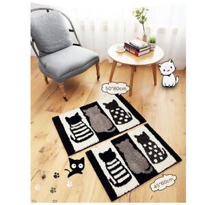 Cat Indoor Outdoor Door Entrance Anti Slip Floor Door Mat Rug Carpet Lovely US