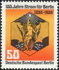 Germany (B) 1984 Berlin Electricity Supply 100th/Power/Energy/Electric 1v n46219