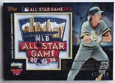 2014 Topps Robin Yount All-Star Fanfest Patch Card #127/150 Milwaukee Brewers
