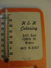 Thermometers - Advertising -Small Square - H & H Catering