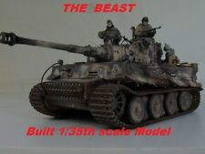 1/35 Built TIGER I Early & RIDERS - Built 1/35 ( PRE ORDER)