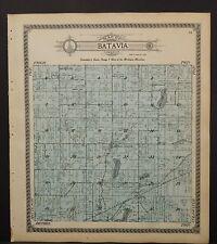 Michigan Branch County Map Batavia Township 1915  L24#17