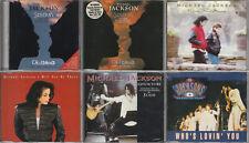 Michael Jackson - lot de 6 CD