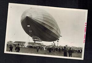 1935 Germany Graf Zeppelin RPPC Postcard Cover to Recife Brazil 10th SAF LZ 127