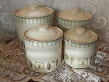 Pfaltzgraff Naturewood Canister Set of 4 with Lids