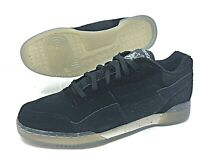 Reebok Classics Workout Plus Tribute Black/Clear Fitness Shoe Mens SZ ( CM9909 )
