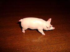 "1998 2"" tall Safari limited Plastic Pig animal action figure/toy"