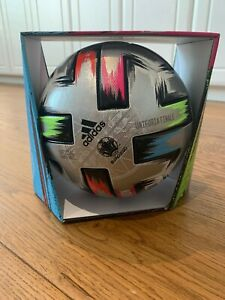 Adidas Euro 2020 Finals Uniforia Pro Official Match Ball Silver FS5078 Size 5