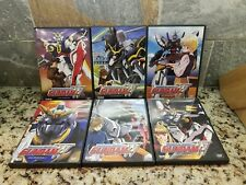 Lot of 6 Mobile Suit: Gundam Wing DVD Operation Set Bundle 1 2 3 4 5 6  Bandai