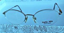ITALIA MIA Eyeglasses IM576 Blue Women Optical Frame Vintage Authentic