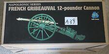 "DID Francese Napoleonico 12 Pounder CANNONE WATERLOO 1/6 12"" L in scatola giocattolo Dragon"