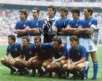 Foto Autografata Alessandro Altobelli e Giovanni Galli Signed Mondiali 1982