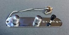 Loaded Control Plate Assembly 3 Way Switch & Genuine Alpha Pot for  Tele Guitar