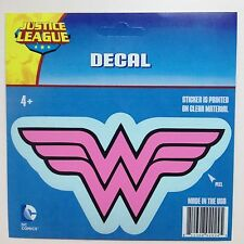 DC Justice League PINK Wonder Woman logo Car Window Sticker Decal Family 6""