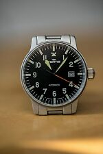 Fortis Flieger 40mm Automatic Pilot's Watch - Black Dial - 595.10.46.1