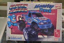 AMT 857/12 Captain America Monster Truck 1:32 Scale Model Truck - NEW