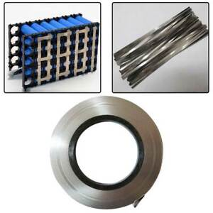 10M Pure Nickel Strip Flexible Home Soldering Spot Welding Lithium Ion Battery
