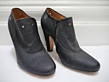 MAISON MARTIN MARGIELA 22 black leather booties ankle boots size 40 WORN ONCE