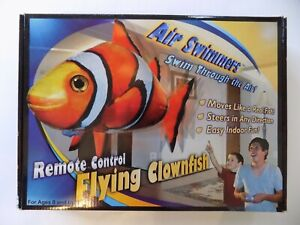 NEW Air Swimmers RC Remote Control Flying Clownfish