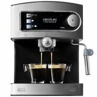 Cecotec Power Espresso Cafetera presión 20 Bares, Inoxidable, depósito 1,5 litro