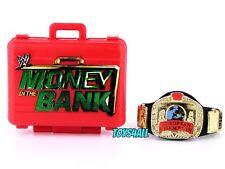 WWE Mattel Elite Money in the Bank Briefcase & European Belt Accessory Lot_e1