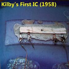 1983 Kilby Intel C4004 8008 CPU 1103 RAM Shockley Transistor RTL Fairchild uA709