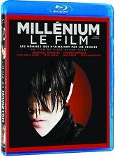 Millenium (Blu-ray French) Noomi Rapace, Michael Nyqvist NEW