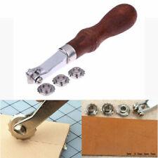 DIY Leder Handwerk Nähen Stich Rad Marker Abstand Roulette Präge Werkzeug Satz