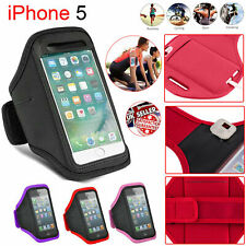 APPLE iPHONE 5,S ARMBAND GYM RUNNING JOGGING SPORTS MOBILE HOLDER EXERCISE STRAP