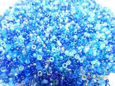 11/0  Blueberry Pie Mix Miyuki Round Glass Seed Beads 10 Grams #07