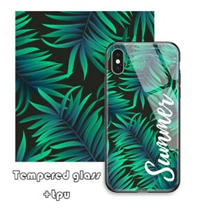 Personalized Tempered Glass TPU Case Cover Custom For Samsung Galaxy Note 10 20