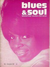 Very rare early Blues & Soul #3 Dec 1967
