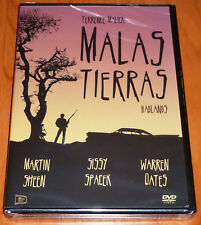 MALAS TIERRAS / BADLANDS Terrence Malick - English Español DVD R ALL - Precintad