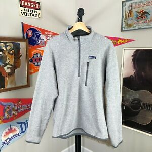Patagonia Better Sweater 1/4 Zip Stone Gray Men's Medium