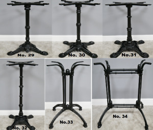 Cast Iron Black Bar Table Base Leg Outdoor Furniture Bars Clubs Bolero