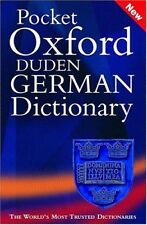 Pocket Oxford-Duden German Dictionary,M. Clark, O. Thyen