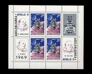 Romania, Sc #C175, MNH,1969, S/S, Space, Apollo-11, HHI-A