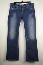 Big Star Remy 32 R Lowrise Boot Mens Dark Wash Denim Jeans actual 32.5 X 31.5