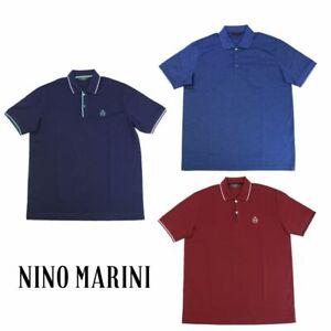 NINO MARINI Polo Piquet Filo di Scozia Alta Qualità 62303 31683