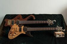 Electric guitar double-neck custom made