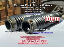 30mm Rubber Fork Boots Gators Gaiters early 80s Yamaha 500 750 920 MAXIM VIRAGO
