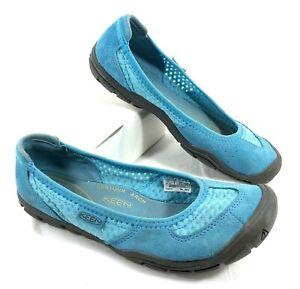 GUC Keen Ballet Flat Blue Suede leather Sz 7