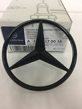 Mercedes-Benz W176 A-Class Rear Boot Lid Badge Star - Gloss Black A1768170016