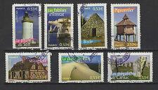 FRANCE 2005 portraits de régions 7 Timbres oblitérés /T1121